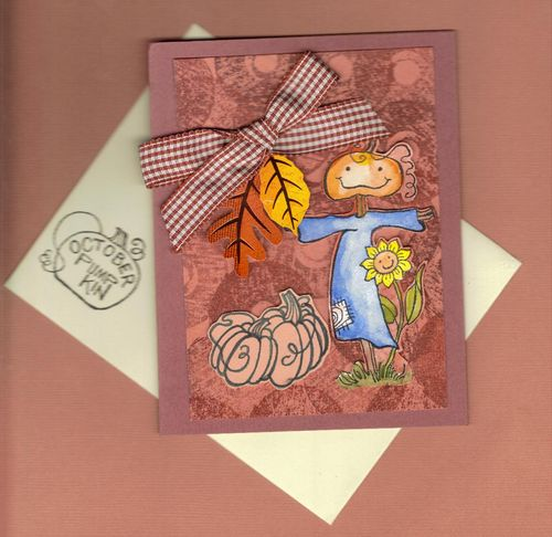 Day 22 - Pretty fall card